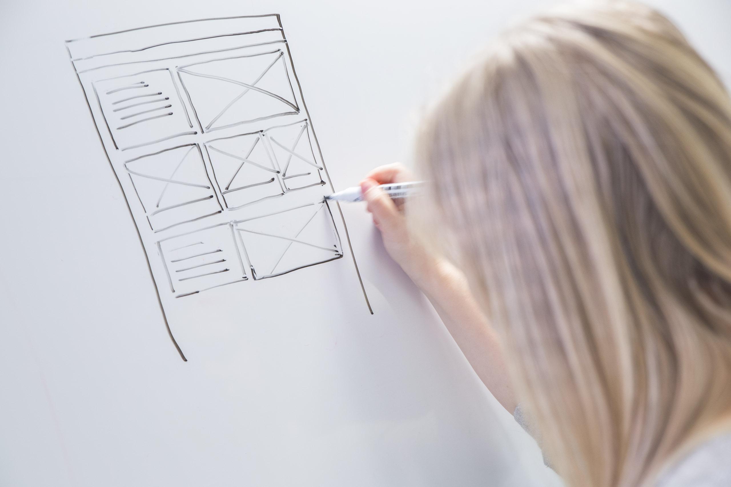 Hyvä web design heijastaa liiketoiminnan tavoitteita